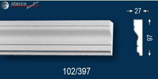 Beschichtetes Fassadenprofil Oxford 102