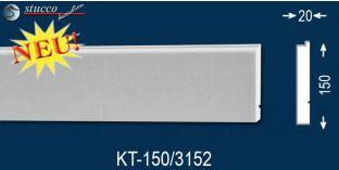 Laibungsprofil beschichtet Ulm KT-150 mm tief