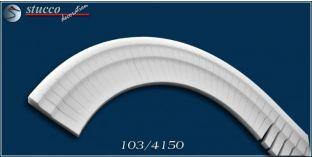 Fassadenstuck für inneren Bogen flexible Stuckleisten Bangkok 103