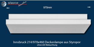Innsbruck 214-970x460 Deckenlampe ohne LED Beleuchtung
