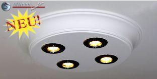 Design Stucklampe mit LED Spots Bayern 10/500x500-3