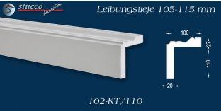 L-Profil für Laibung und Faschen Oxford 102-KT 105-115 mm