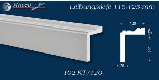 L-Profil für Laibung und Faschen Oxford 102-KT 115-125 mm