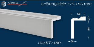 L-Profil für Laibung und Faschen Oxford 102-KT 175-185 mm