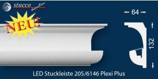 Lichtleiste München 205 PLEXI PLUS zur Wandbeleuchtung