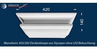 Mannheim 303-202 Deckenlampe ohne LED Beleuchtung