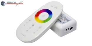 LED RGB-W Controller mit Touch Fernbedienung RF