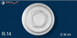 Stuckrosetten Marbet Design® R14