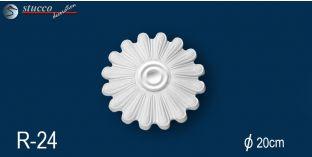 Stuck Rosette Styropor Marbet Design® R24