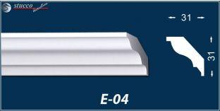 Styropor Deckenleisten E-4