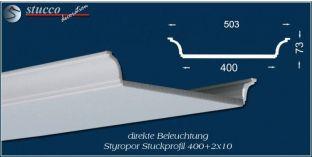 Stuckprofil für direkte Beleuchtung Bayern 400+2x10