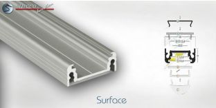 LED Alu Profile SURFACE