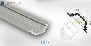 LED Leiste Aluprofil TRIO