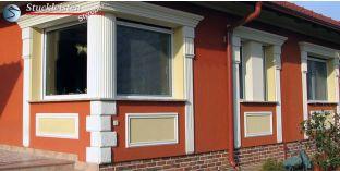 Beschichtete Fassadenprofil Wandleisten Jakarta 150