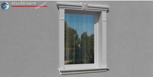 Beschichtetes Fassadenelement Stuckleiste Canberra 107-F