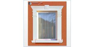Beschichtetes Fensterbankprofil Jakarta 106-F