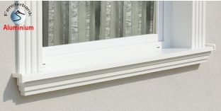 Komplette Fensterbank Schwedt 105 1370-1420-250