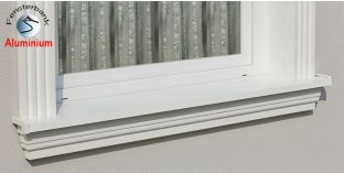 Komplette Fensterbank Halle 124 1120-1170-150