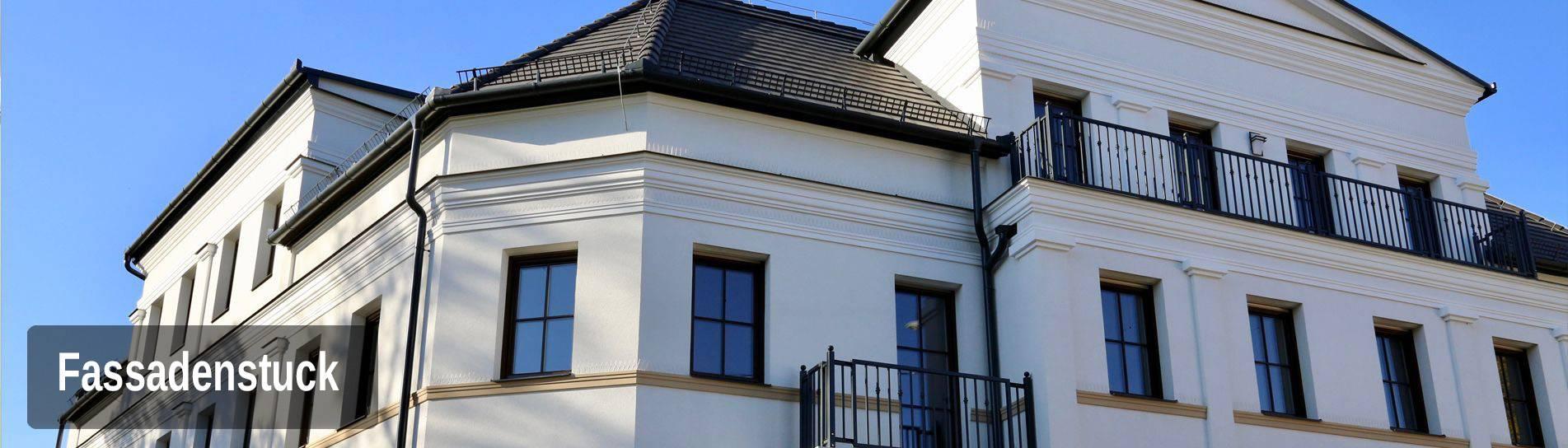 Fassadengestaltung mit Styroporstuck