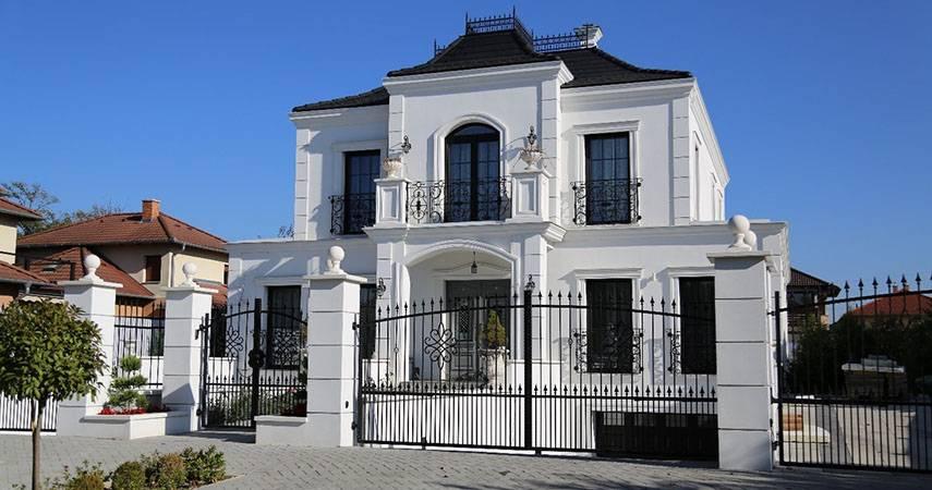 Amerikanische Stadtvilla - Fassadengestaltung in Deutschland im US-Stil