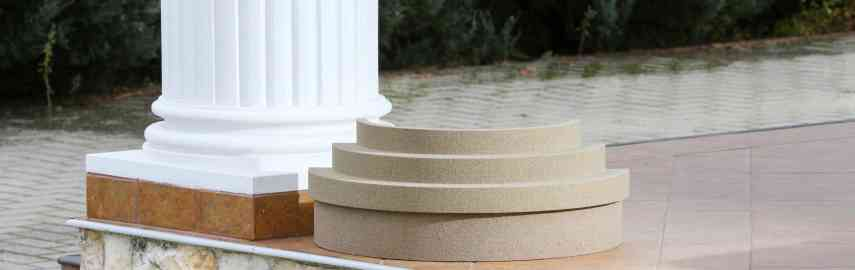 Attraktive Dekosäulen mit modernem Säulenstuck selber gestalten!