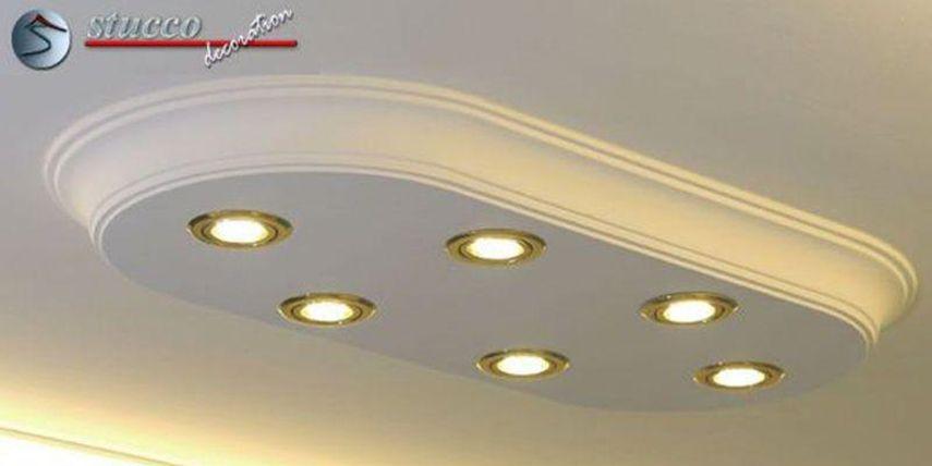Stucklampen mit LED Beleuchtung – eine originelle Lösung