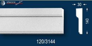 Beschichtetes Fassadenprofil Bayern 120
