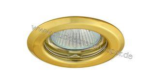 LED Einbaurahmen für LED Spot Deckenleuchte gold
