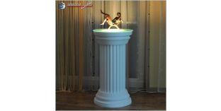 Dekosäule Hartschaum ODK 410/755 mit Beleuchtung