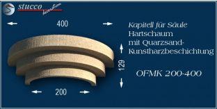 Kapitell für Säule mit Beschichtung OFMK 200/400