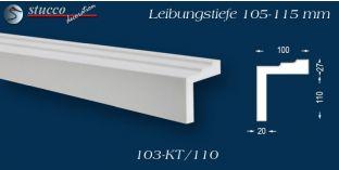 Stuck Fassade Leibungsverkleidung Heubach 103 KT 105-115 mm