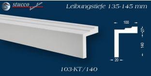 Stuck Fassade Leibungsverkleidung Eppingen 103 KT 135-145 mm