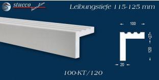 L-Profil für Laibung und Faschen Freetown 100-KT 115-125 mm
