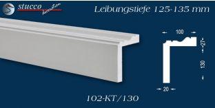 Stuck Fassade Leibungsverkleidung Remagen 102 KT 125-135 mm