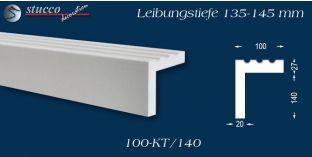 Stuck Fassade Leibungsverkleidung Tessin 100 KT 135-145 mm