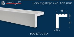 Stuck Fassade Leibungsverkleidung Bebra 100 KT 145-155 mm