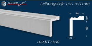 Stuck Fassade Leibungsverkleidung Regensburg 102 KT 155-165 mm