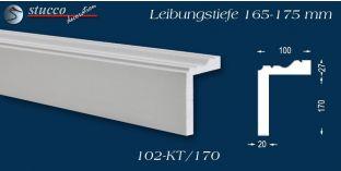 Stuck Fassade Leibungsverkleidung Cham 102 KT 165-175 mm