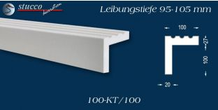 L-Profil für Laibung und Faschen Freetown 100-KT 95-105 mm
