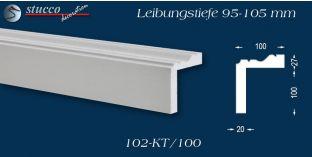 Stuck Fassade Leibungsverkleidung Bad Elster 102 KT 95-105 mm