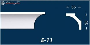 Styropor Zierleisten E-11