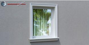 Stuck Fassade Leibungsverkleidung Stadtroda 103 KT 125-135 mm
