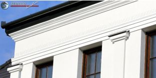 Beschichtetes Dachgesims Styropor Wien 133