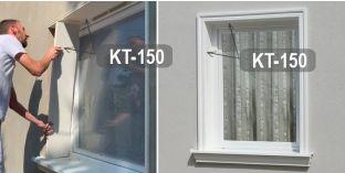 Beschichtetes Laibungsprofil für Fensterlaibung Ulm KT-150 Tiefe 150 mm