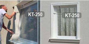 Beschichtetes Laibungsprofil für Fensterlaibung Leipzig KT-250 Tiefe: 250mm