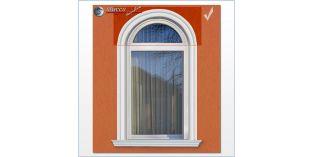 Fassadenstuck für inneren Bogen flexible Stuckleisten Oxford 102