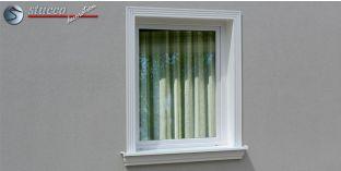Stuck Fassade Leibungsverkleidung Karben 100 KT 185-195 mm