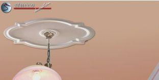Stuckrosette Styropor Marbet Design® R10