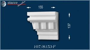 Fassadenprofil Canberra 107-F linkes Schließelement