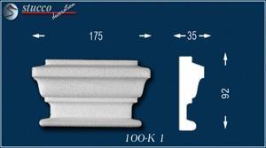 Aussenstuck Zierornament Titus 100-K1